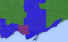 Toronto, ON, Canada  2014 Municipal Mayoral Election results