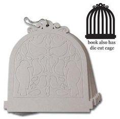 Maya Road Birdcage Chipboard Book - Birdcage Chipboard Album