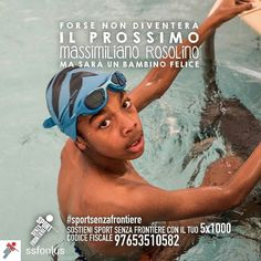 @Regrann from @ssfonlus -  Cosa rende un bambino davvero felice? Muoversi divertirsi giocare insieme. Crescere un passo per volta facendo sport con tanti nuovi amici lontano dalla strada per avere una vita sana e un futuro sereno.  Sostenere i nostri bambini non ti costerà nulla. Basta solo una firma. Dona il tuo 51000 a Sport Senza Frontiere: codice fiscale 97653510582.  @Massi_Rosolino #Rosolino #MassimilianoRosolino #nuotatore #SportSenzaFrontiere #campione #campioni #unodinoi…