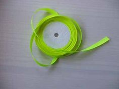 bright yellow satin ribbon  1cm 22 metres £1.50