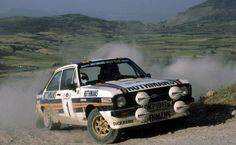 Ari Vatanen - David Richards 28th Acropolis Rally 1981 (Ford Escort RS MkII)