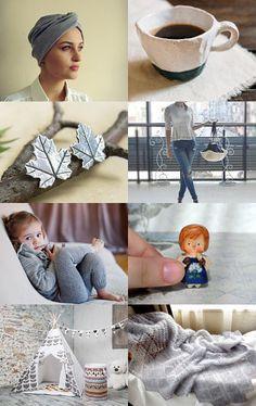grey morning inspiration in Handmade by Svetlana Pershina on Etsy--Pinned with TreasuryPin.com