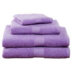 Grape Four-Piece Cotton Towel Set  $19.95