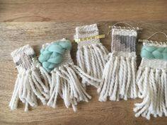 mini woven ornaments