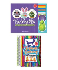 Twirly Q's Cardboard Creations & Twisted Critters Craft Set #zulily #zulilyfinds