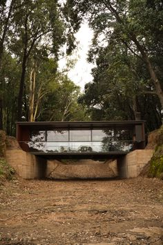 Gallery of Bridge Pavilion / alarciaferrer arquitectos - 5 Bridge Pavilion,©️️ Lucas Carranza Shipping Container Home Designs, Container House Plans, Container House Design, Tiny House Design, Modern House Design, Residential Architecture, Interior Architecture, Sustainable Architecture, Casas Containers