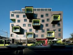 The Cullen Hotel by Jackson Clements Burrows Architects