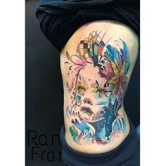 Original design by @grenomj  Tattoo done by artist: Ramon Francisco Instagram & Booking: @ramonink  Studio:  Inkaholik Tattoos in Miami Fl #miamitattooartist #miamiartist #tattooartist #watercolor #watercolortattoos #tattoo #tattoos #ink #abstracttattoos #colorful #picoftheday #tattoooftheday #tatuador #supportgoodtattooers #tattoosofinstagram #tattoocloud #bestoftheday