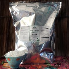 Radiant Life Coconut Flakes and Chips $17.50 for 3 lb - good for making coconut milk