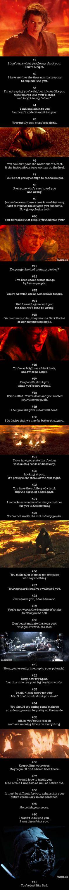 41 Curse-Free Comebacks That Burn Like Fire