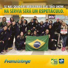 Neste sábado a Seleção Brasileira Feminina de Handebol estreia no Mundial contra a seleção da Argélia. Vamos juntos mandar energias positivas para que as nossas meninas conquistem essa vitória.