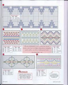 Swedish Weaving Pattern Diagram