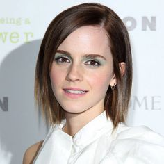 Emma Watson with a bob hairstyle - Autumn Winter 2012 Hair Trends  - Autumn Winter 2012 Hair Trends | InStyle UK