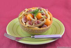 Scopri la ricetta di: Pasta fredda con prosciutto e melone