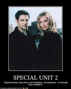 special unit 2 | special unit 2 on Tumblr Even worse they won't put the only seasons on DVD!