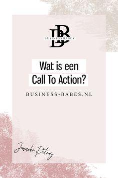 Wat is een Call to Action?