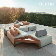 Dedon Brixx Simple Yet Sophisticated Natural Yet Refined This Flexible System Of Re Da Vinci Lifestyle Worlds Largest Furniture Group Over