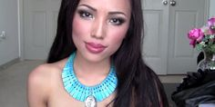 13 Easy Makeup Tutorials To Channel Your Favorite Disney Princess - Makeup Products Fenty Pocahontas Makeup, Pocahontas Cosplay, Disney Pocahontas, Disney Cosplay, Disney Princess, Disney Makeup, Princess Hair, Princess Party, Easy Makeup Tutorial