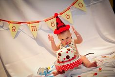 Sock Monkey Birthday Party, Vintage Monkey Party Ideas - Kara's Party Ideas - The Place for All Things Party Monkey First Birthday, Monkey Birthday Parties, Birthday Pictures, Birthday Ideas, Birthday Stuff, Birthday Cake, Birthday Decorations, Sock Monkey Party, First Birthdays
