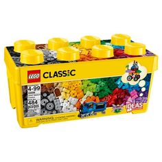 Lego® Classic Medium Creative Brick Box 10696 / $28.99 / Target