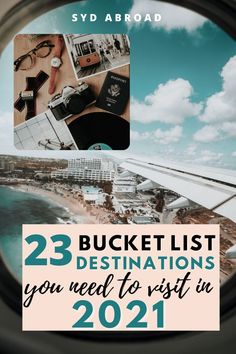 I am obsessing over these bucket list destinations to visit in 2021!!! I am dying to travel again and the travel destinations from all over the world are AMAZING! #bucketlistdestinations Bucket List Destinations, Travel Destinations, Best Places To Travel, Places To Go, Travel Inspiration, Inspiration Quotes, Travel Guides, Travel Tips, Travel Aesthetic