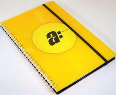 DIN A5 - Kalender aus Schallplatte - ein Designerstück von Aurum bei DaWanda