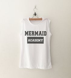 Mermaid tee shirt Funny T-Shirt Workout Shirts Women Muscle Tank Tops with saying Tumblr Quote Shirts Graphic Tees for Women Tshirts