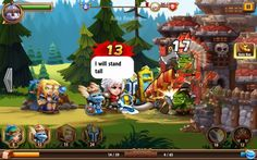 Monster Mania Castle Heroes is a Android Free-to-play [F2P] Real-time Strategy [RTS] Tower Defense MMO Game
