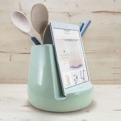 Stak Ceramics Mint Kitchen Dock (Pre-order Only) - The Shop in East Liberty Mint Kitchen, New Kitchen, Kitchen Decor, Crazy Kitchen, Kitchen Ideas, Kitchen Stuff, Kitchen Designs, Space Kitchen, Basic Kitchen