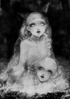 Eerie faces