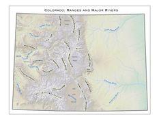 Colorado Wilderness Area Map | wanderlust | Pinterest | Wilderness ...