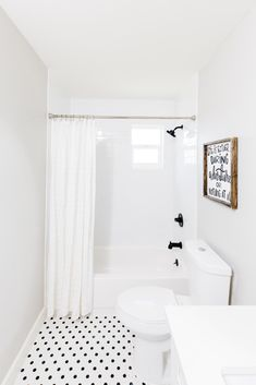 The design experts at HGTV share unbelievable before-and-after photos from 42 living room makeovers. Tub Shower Combo, Shower Tub, Shower Doors, Small Bathroom, Master Bathroom, Bathroom Ideas, White Bathrooms, Bathroom Pictures, Basement Bathroom