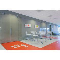 Dura Vermeer Vastgoed BV Zoetermeer | Wouter Zaaijer, Lies Vosmer, Joanna Wnuk | Photo: Vepa | ALINE multi-purpose chairs and tables by #Wilkhahn