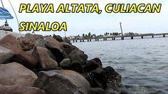 Playa Altata en Navolato Culiacán Sinaloa México, destino turístico para...