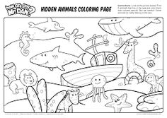 Welcome to Dover Publications Easy Hidden Pictures Coloring Book ...