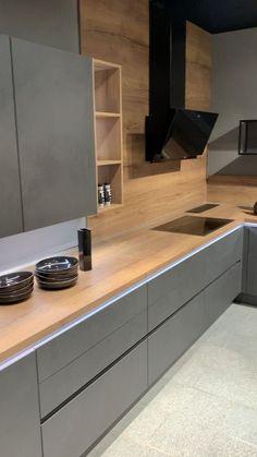 brilliant kitchen corner storage 2 ~ Home Design Ideas Kitchen Pantry Design, Modern Kitchen Cabinets, Home Decor Kitchen, Interior Design Kitchen, Home Kitchens, Island Kitchen, Small Kitchens, Kitchen Designs, Modern Grey Kitchen
