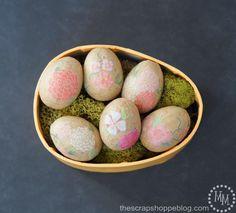 DIY Easter Crafts : DIY Floral Paper Eggs