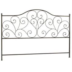 Twin Size Metal Platform Bed Frame with Headboard in Silver Finish