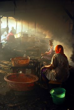 """smoked"". surabaya, east java, indonesia.  travel photography by shinta djiwatampu"