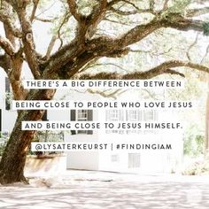 There's a big difference between being clise to people who live Jesus and being close to Jesus himself. Devotional Quotes, Daily Devotional, Bible Quotes, Bible Verses, Scriptures, Light Of The World, Light Of Life, Todays Devotion, Finding I Am