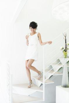 Второе свадебное платье в стиле минимал шик / Second wedding dress minimal chic style