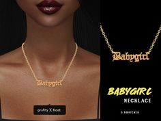 Join Grafity-cc on Patreon to get access to this post and more benefits. Los Sims 4 Mods, Sims 4 Body Mods, Sims 4 Game Mods, Sims 4 Cc Kids Clothing, Sims 4 Mods Clothes, Sims 4 Cas, Sims Cc, Babygirl Necklace, Sims 4 Piercings