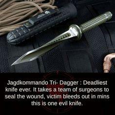 Jagdkommando - deadliest knife ever. Maybe something for https://Addgeeks.com ?
