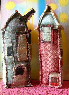 towers in the village | by karnakarna designs   reminds me of the Apple Pip Princess