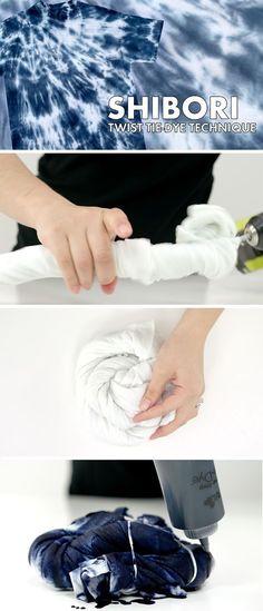 Shibori Tie Dye Twist