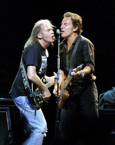 Bruce & Neil Young