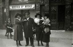 Donostia.  1920.  Campaña de cuestación.