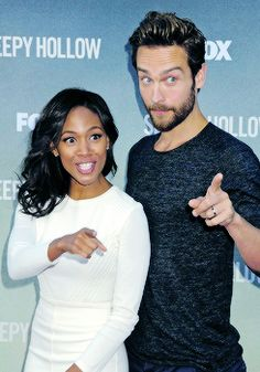 Tom Mison & Nicole Beharie
