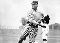 Kansas: Walter Johnson  -   In his 20 years as a pitcher for the Washington Senators, Walter Johnson won 417 games, recorded 3,508 strikeouts and finished with a career ERA of 2.17. A two-time AL MVP, Johnson threw a record 110 shutouts and was named to Major League Baseball's All-Century Team. He was born in Humboldt.