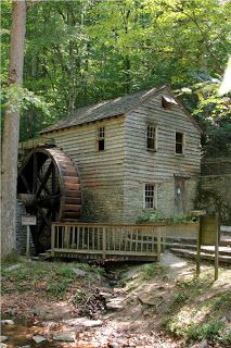 Mill Springs Mill, located in Shelter, Kentucky, is a water-powered grist mill listed on the National Register of Historic Places. Built in 1877, its 40-foot overshot water wheel is one of the largest in the world. The mill and water wheel were restored as a bicentennial project in 1976, and are now operated by the U.S. Army Corps of Engineers as an interpretive demonstration. Tours of the mill are conducted for the public during the recreation season.